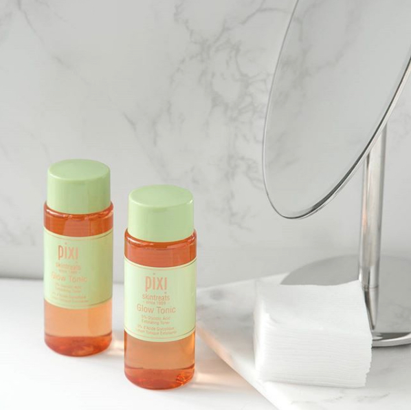 Get the Glow Pixi Beauty Glow Tonic BECCA Primer Ofra Highlighter