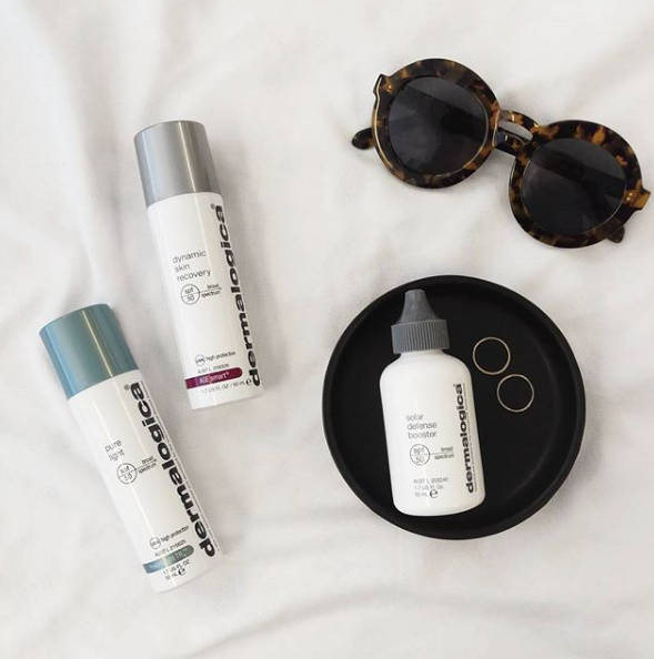 Dermalogica Dynamic Skin Recovery SPF50 sunscreen mature skin