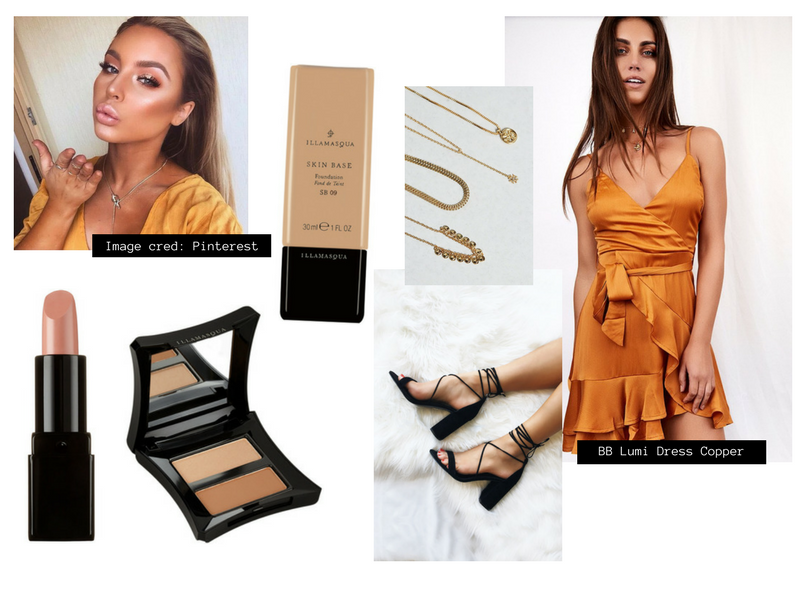 RY Illamasqua and Beginning Boutique Summer Party Ready look makeup outfit