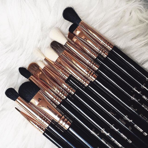 Makeup gifts for mum Sigma Ultimate Copper Eye Set brushes