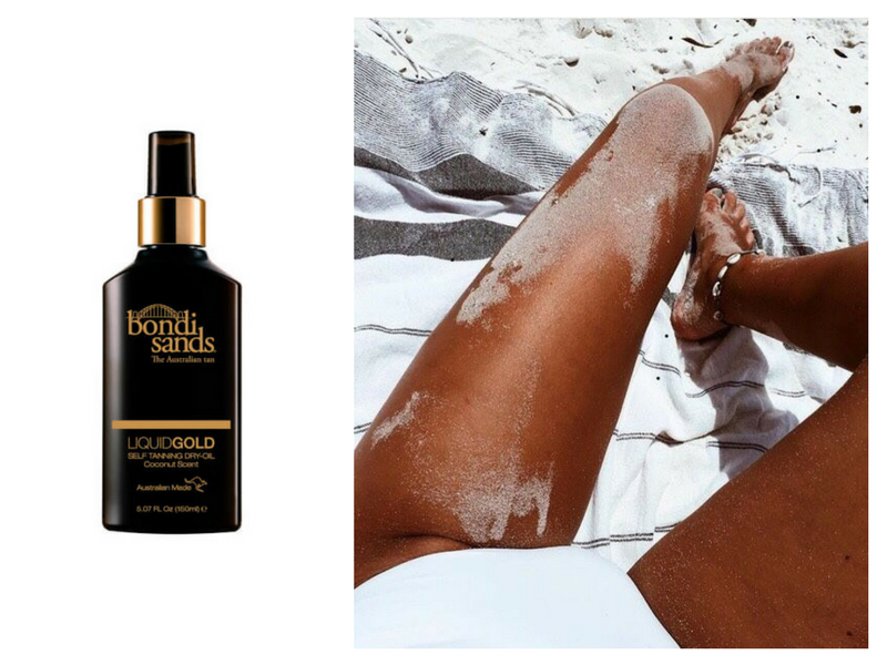 RY X Beginning Boutique Sun Free Fake Tan Loving Tan Bondi Sands