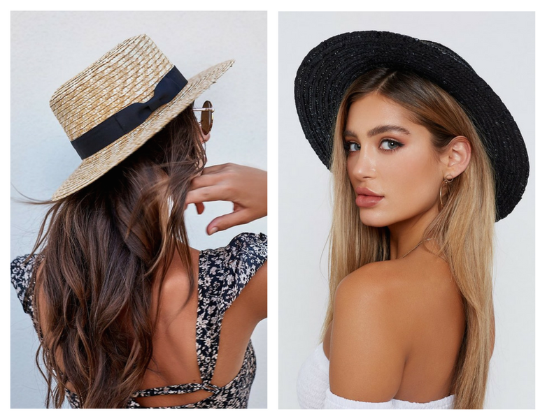 RY X Beginning Boutique Summer Essentials Sun Hat Straw Lack of Color