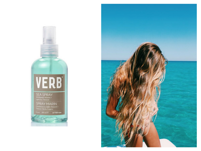 RY X Beginning Boutique Salty Beach Hair Verb Sea Spray