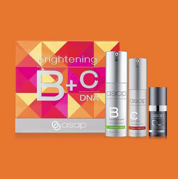 asap Skincare Brightening Serum Pack Christmas gift set