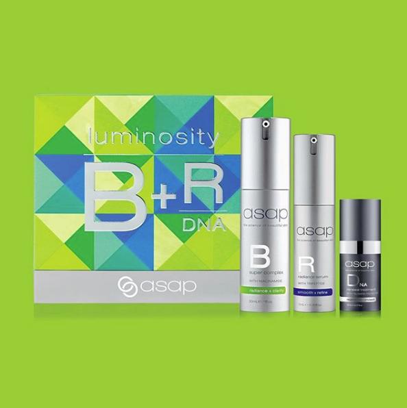 asap Skincare Luminosity Serum Pack Christmas gift set