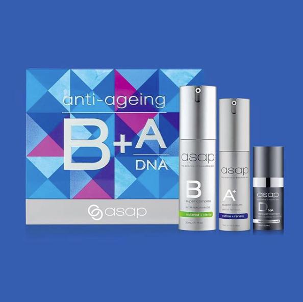 asap Skincare Anti-Ageing Serum Pack Christmas gift set