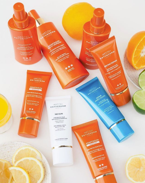 Institut Esthederm Facial Sunscreen SPF tan optimiser