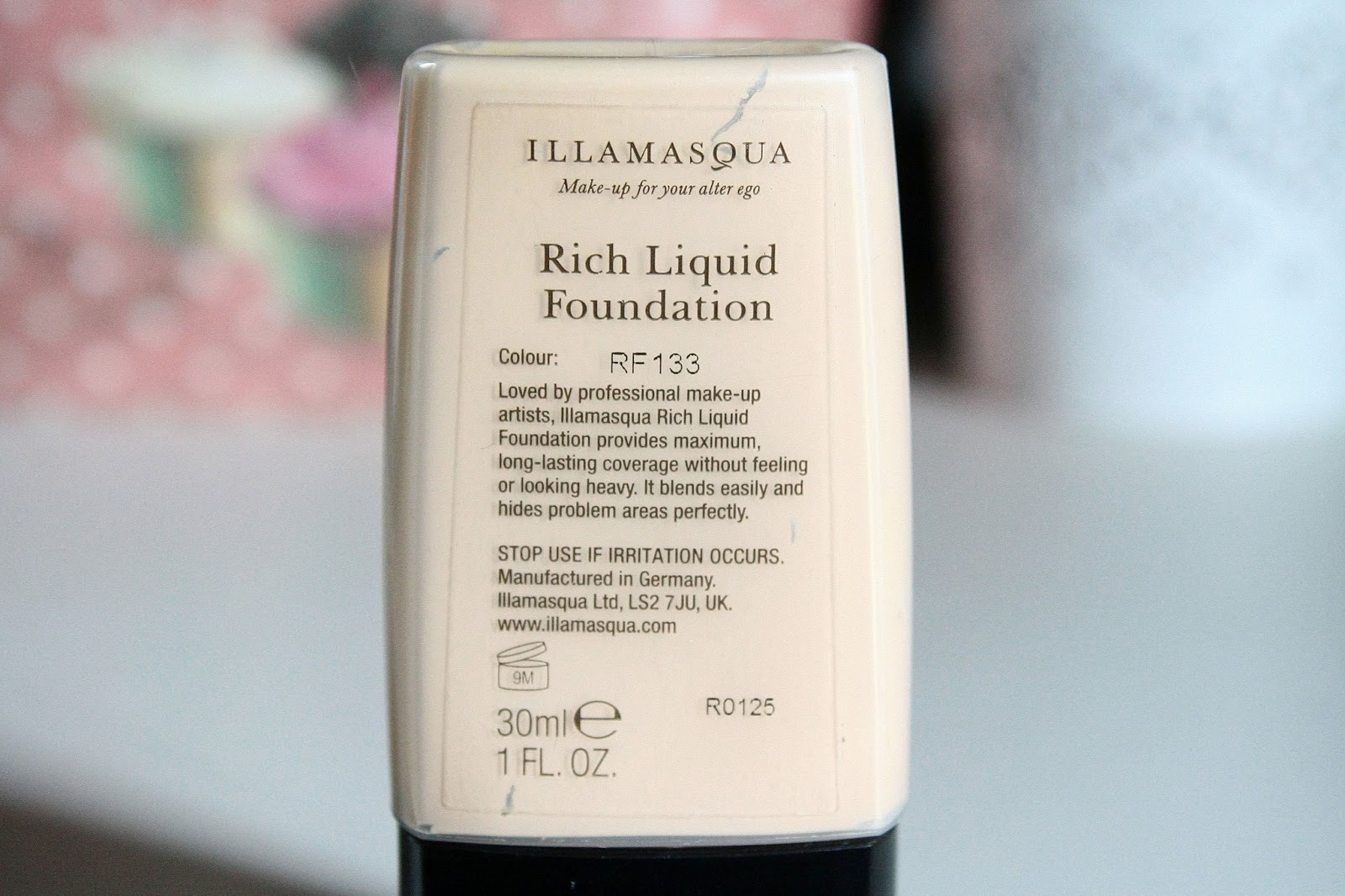 Illamasqua foundation review Rich Liquid Foundation
