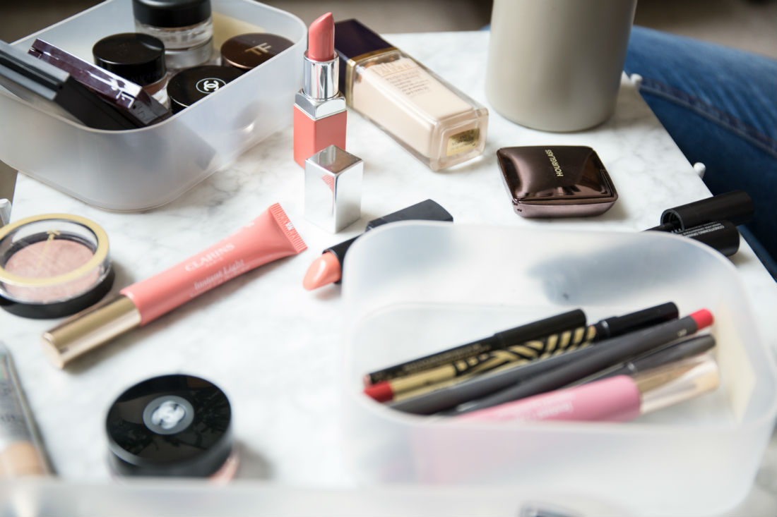 New Year's resolution quality makeup over quantity
