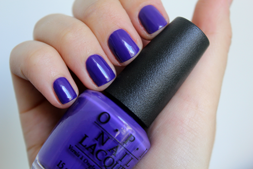 Pantone Colour of the Year Ultra Violet Nail Polish OPI Do You Have this Colour in Stockholm