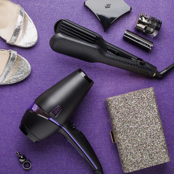 Pantone Colour of the Year beauty accessories ghd Nocturne Collection styler and dryer Ultra Violet
