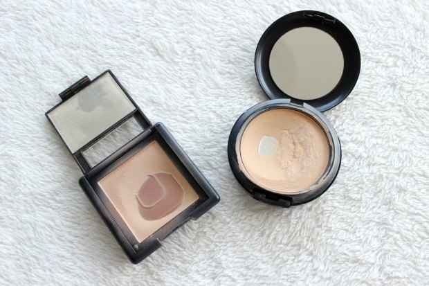 Minimalist makeup empty products before repurchasing