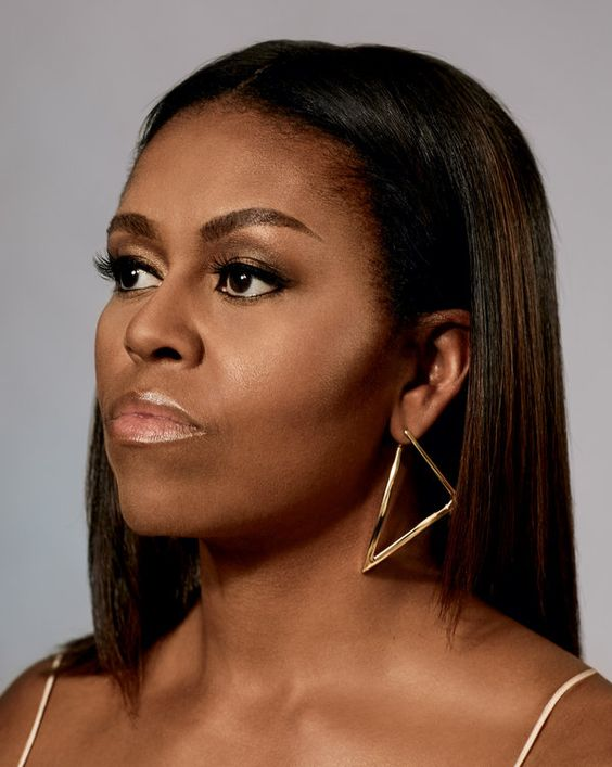 Capricorn beauty Michelle Obama makeup and hair inspiration