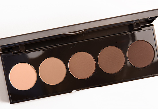 Capricorn beauty brown eyes and lips Becca Ombre Nudes Palette