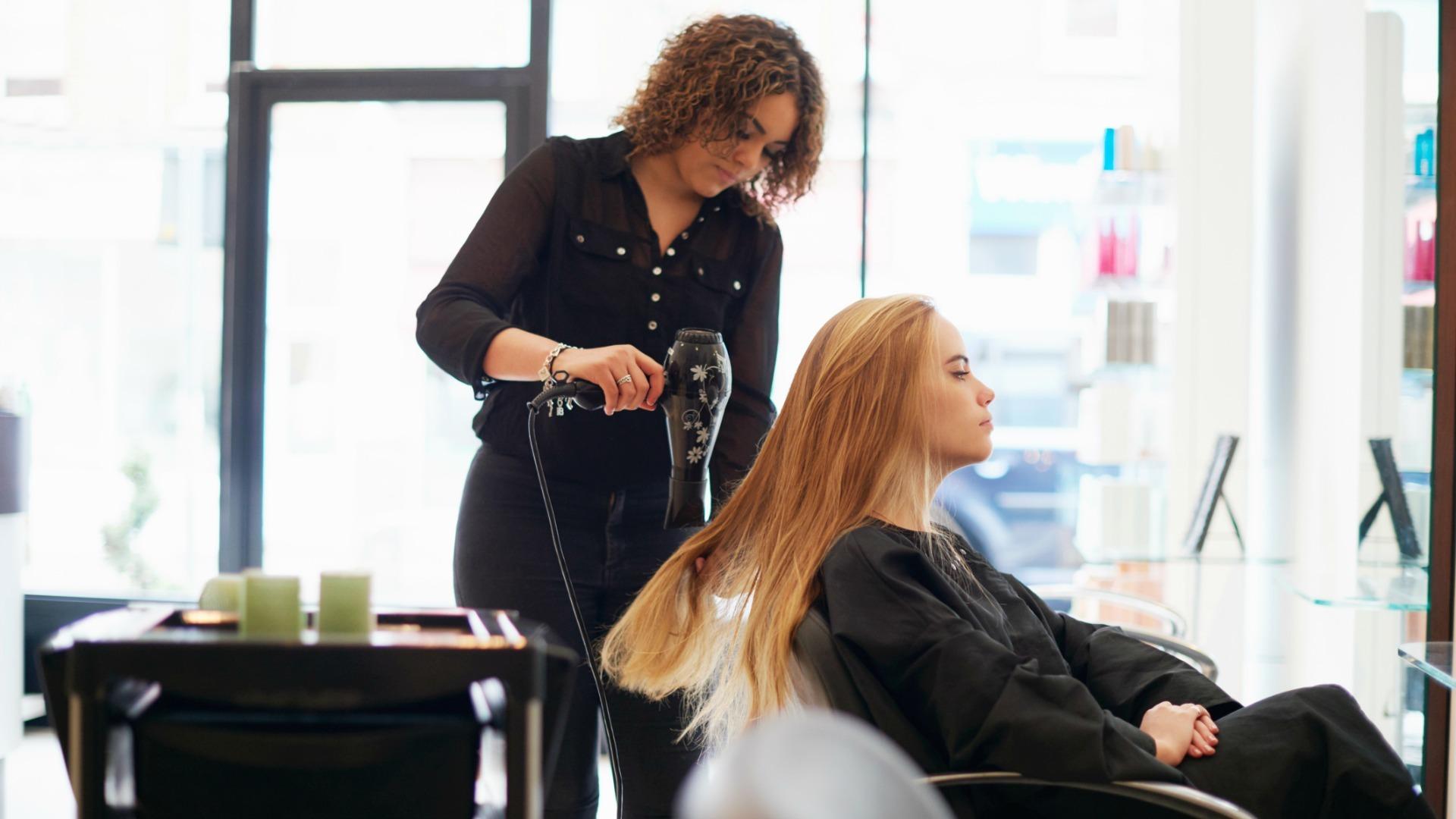 Hair health regular trims salon visits