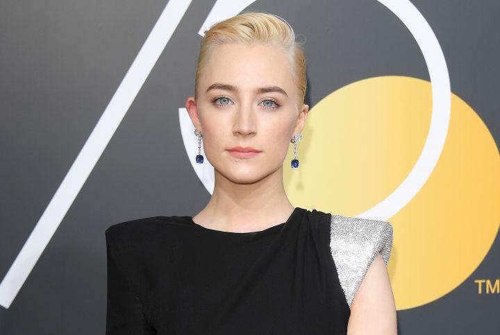 Golden Globes 2018 Saoirse Ronan makeup look