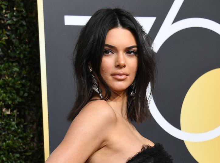 Golden Globes 2018 Kendall Jenner makeup look