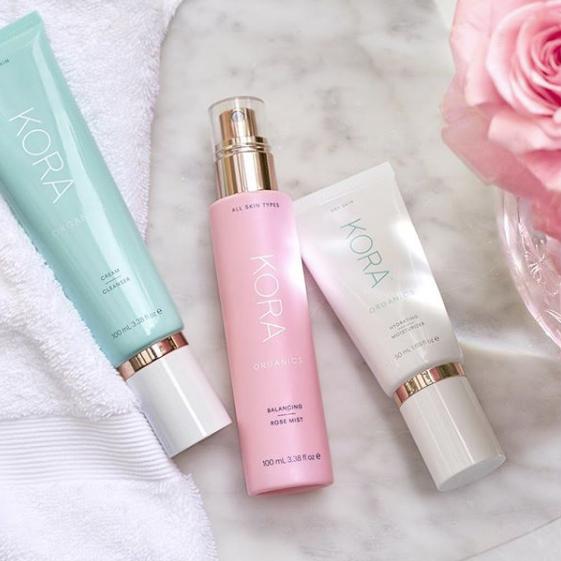 Australian-owned beauty brands KORA Organics skincare