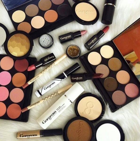Australian-owned beauty brands Gorgeous Cosmetics makeup