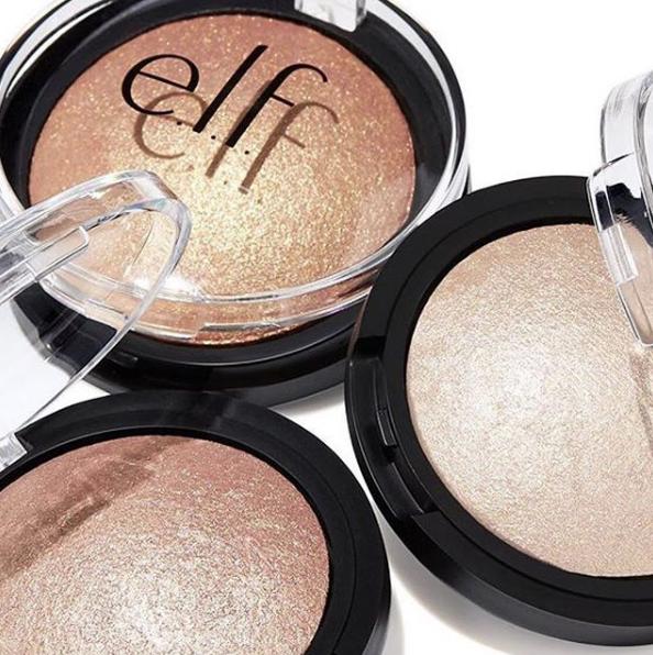 elf Cosmetics Baked Highlighter Best Highlighter under $30