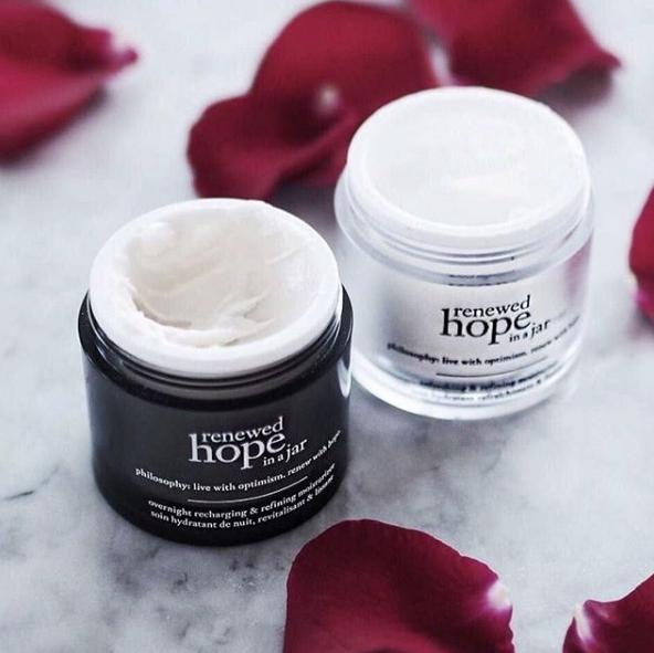 Philosophy moisturiser Renewed Hope in a Jar range