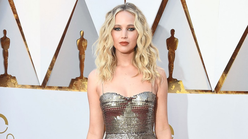 Jennifer Lawrence 2018 Academy Awards makeup look