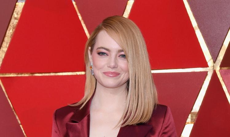 Emma Stone 2018 Academy Awards makeup look