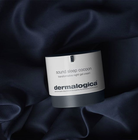 Dermalogica Sound Sleep Cocoon in Sheets beauty sleep skincare