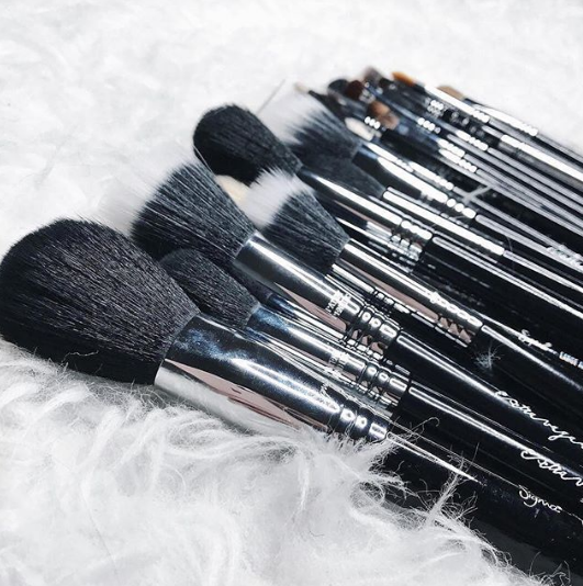 Sigma Makeup Brushes collection