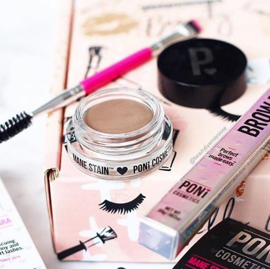 Poni Cosmetics Pro Brow Brush