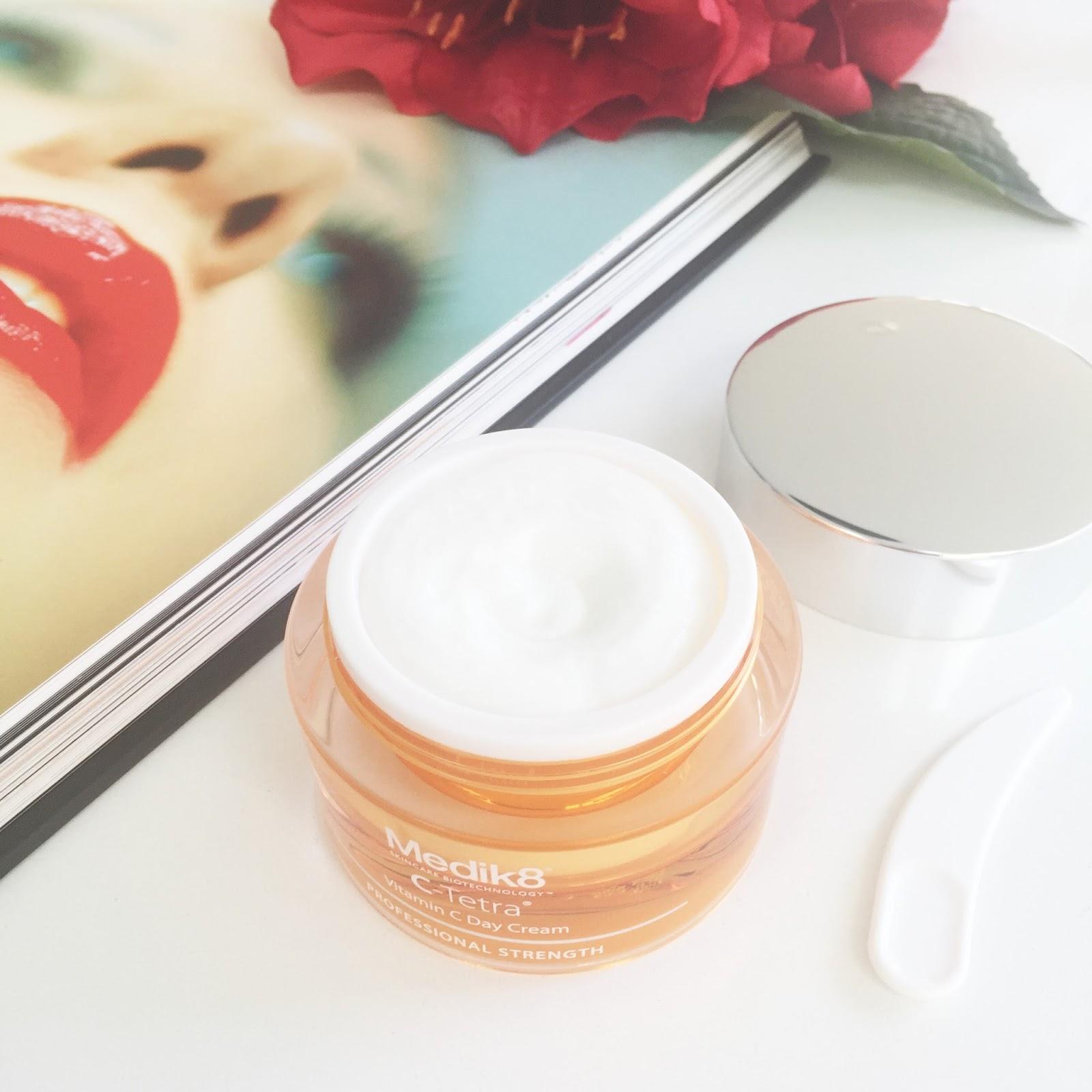 Medik8 C-Tetra Vitamin C Day Cream via Beauty and Lifestyle Hunter
