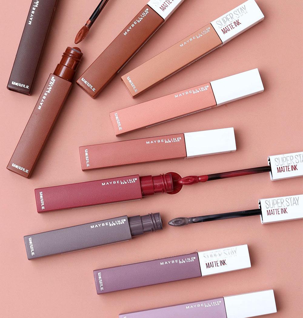 Best Matte Lipsticks Maybelline SuperStay Matte Ink