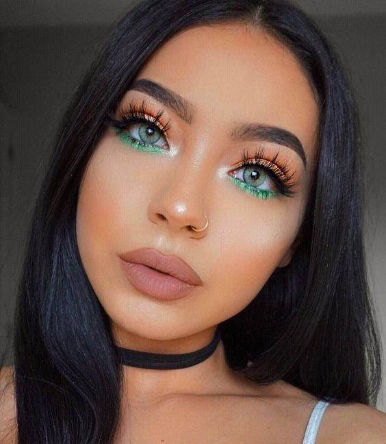 Green Eye Makeup Gemini Horoscope Beauty