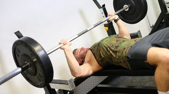 PETER de GRUYL - BENCH PRESS