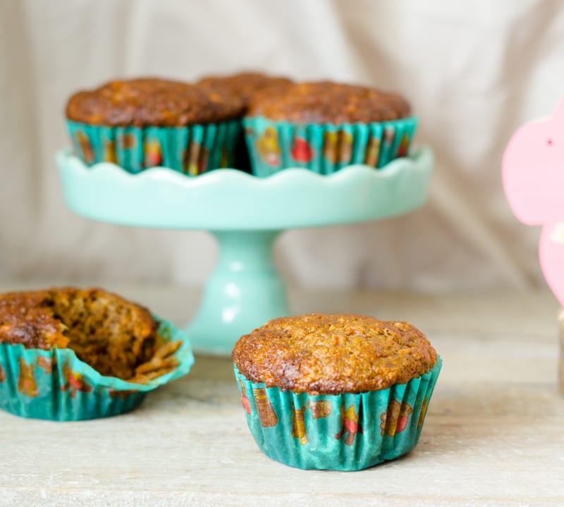 paas carrot cupcakes recept