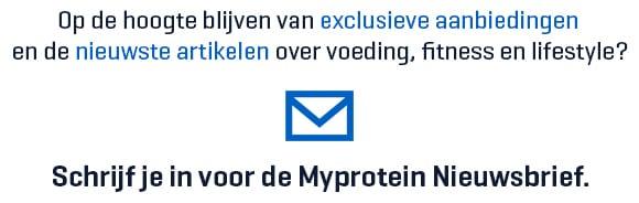 nieuwsbrief myprotein nederland