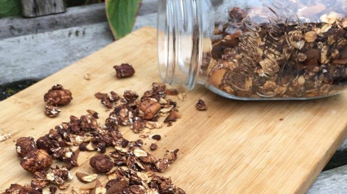 Suikervrije Granola in 5 Makkelijke Stappen | Gezond Ontbijt Recept