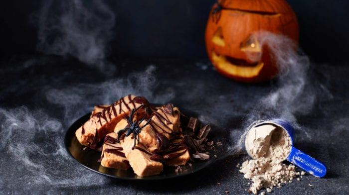 Halloween Recept | Pompoen Eiwitrepen