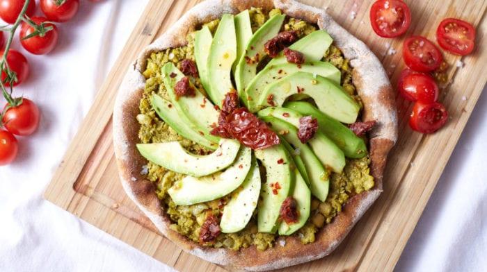 Vegan Avocado Pizza | Maaltijd in 15 minuten