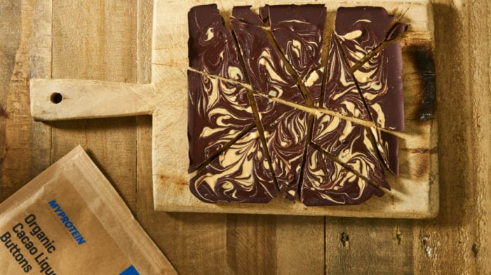 Maca Chocolate Bark Recept