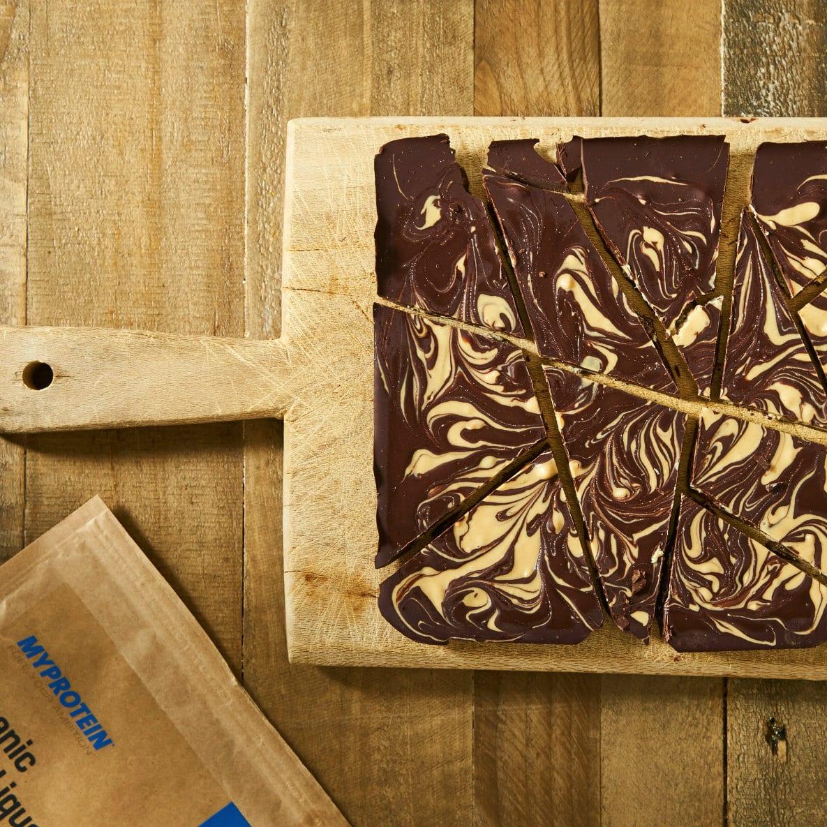 Maca Chocolate Bark Recept