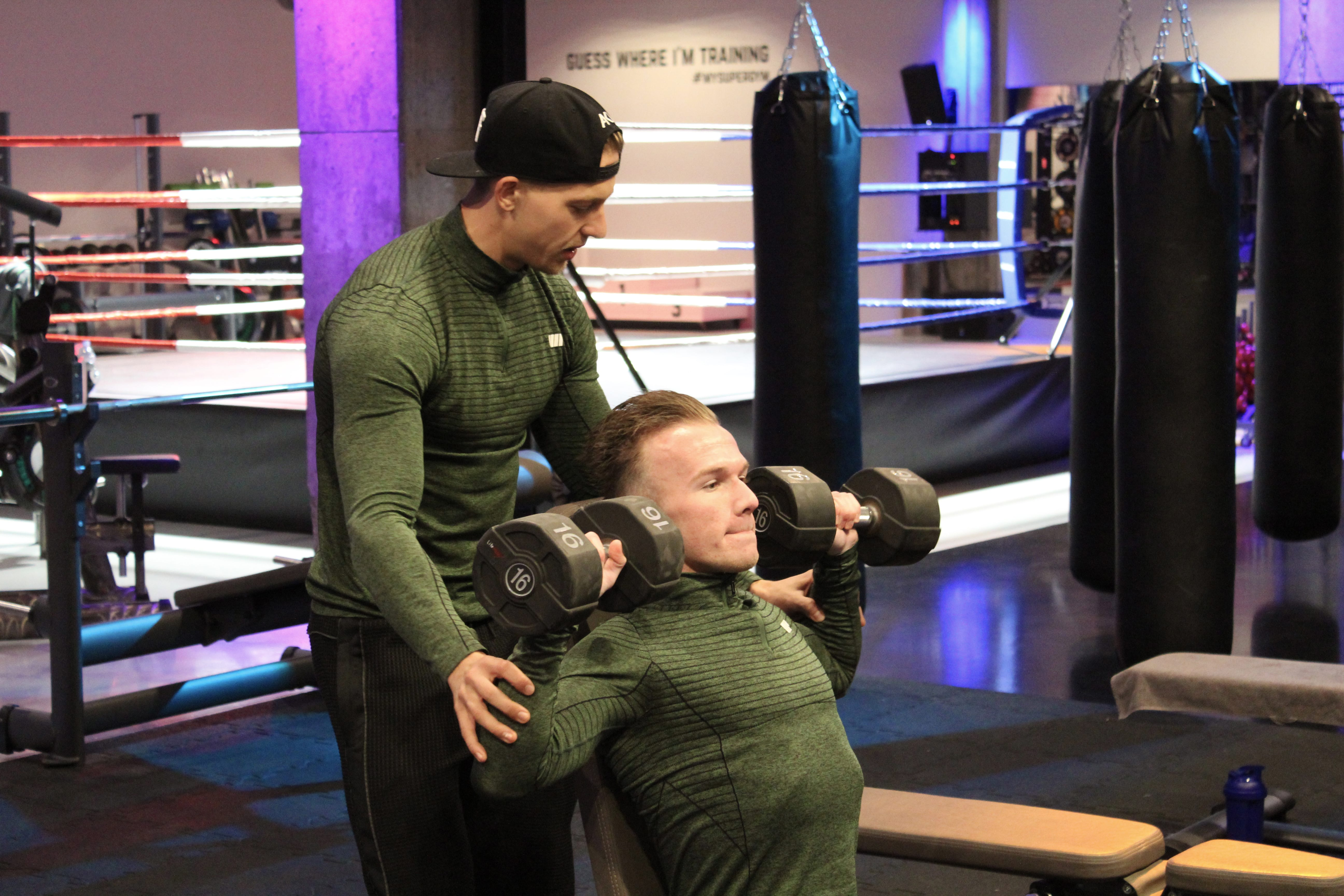 Compound oefeningen schouders shoulder press anthony kruijver personal training