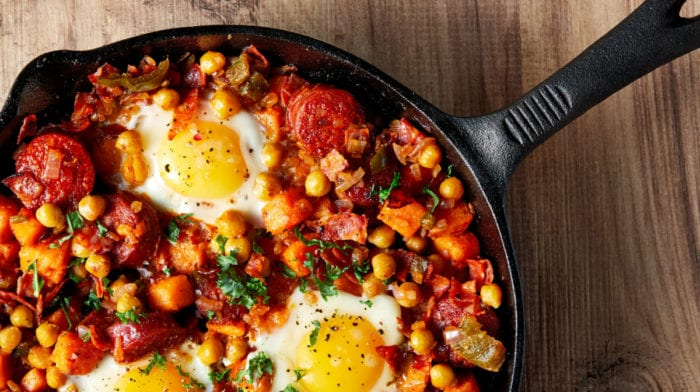 Eiwitrijk Zoete Aardappel Hash Recept | Ontbijt voor Spiergroei
