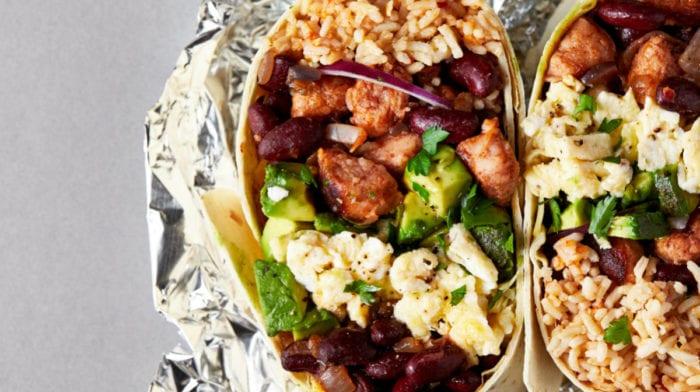 De perfecte burrito-mealprep!