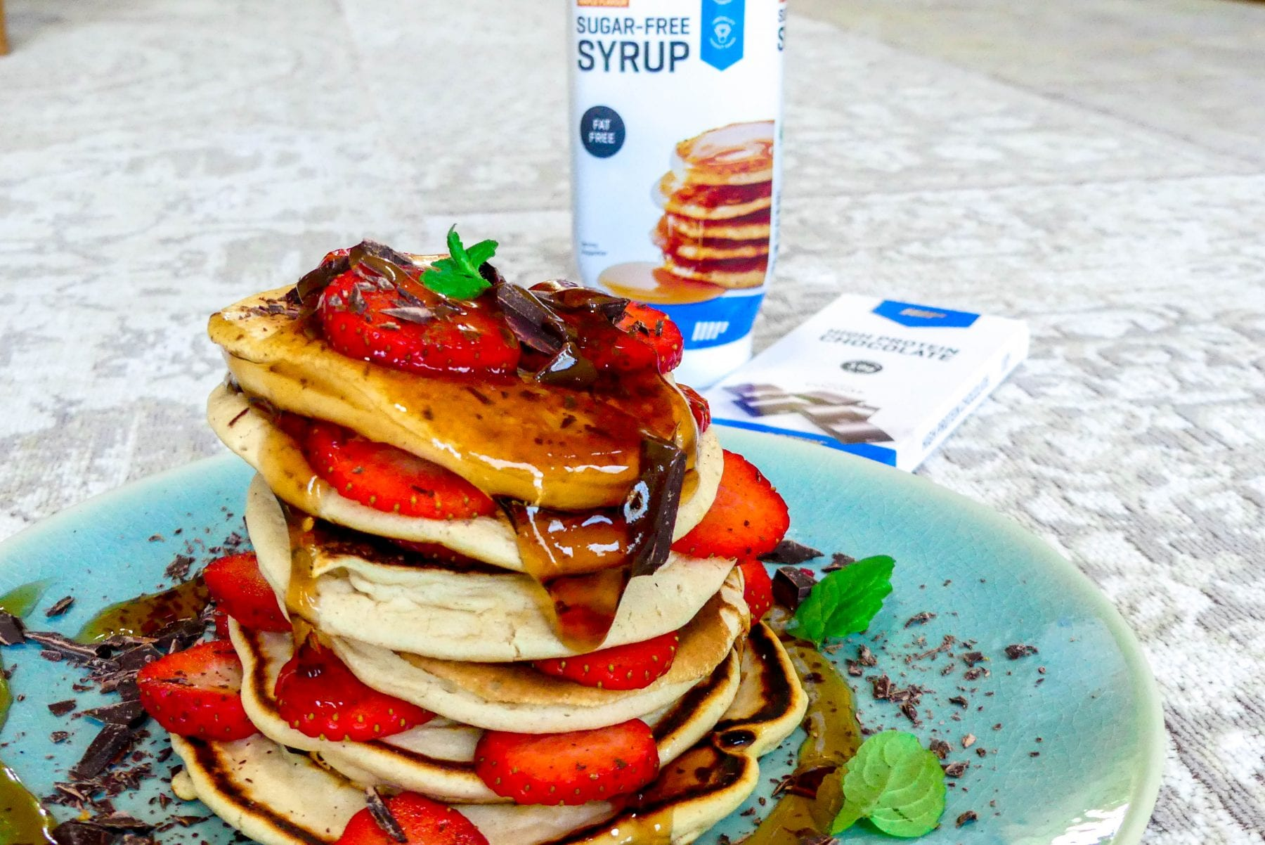 Fluffy pancakes recept