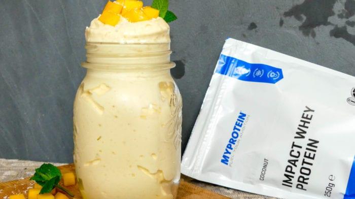 Mango Fluff met Kokos Recept