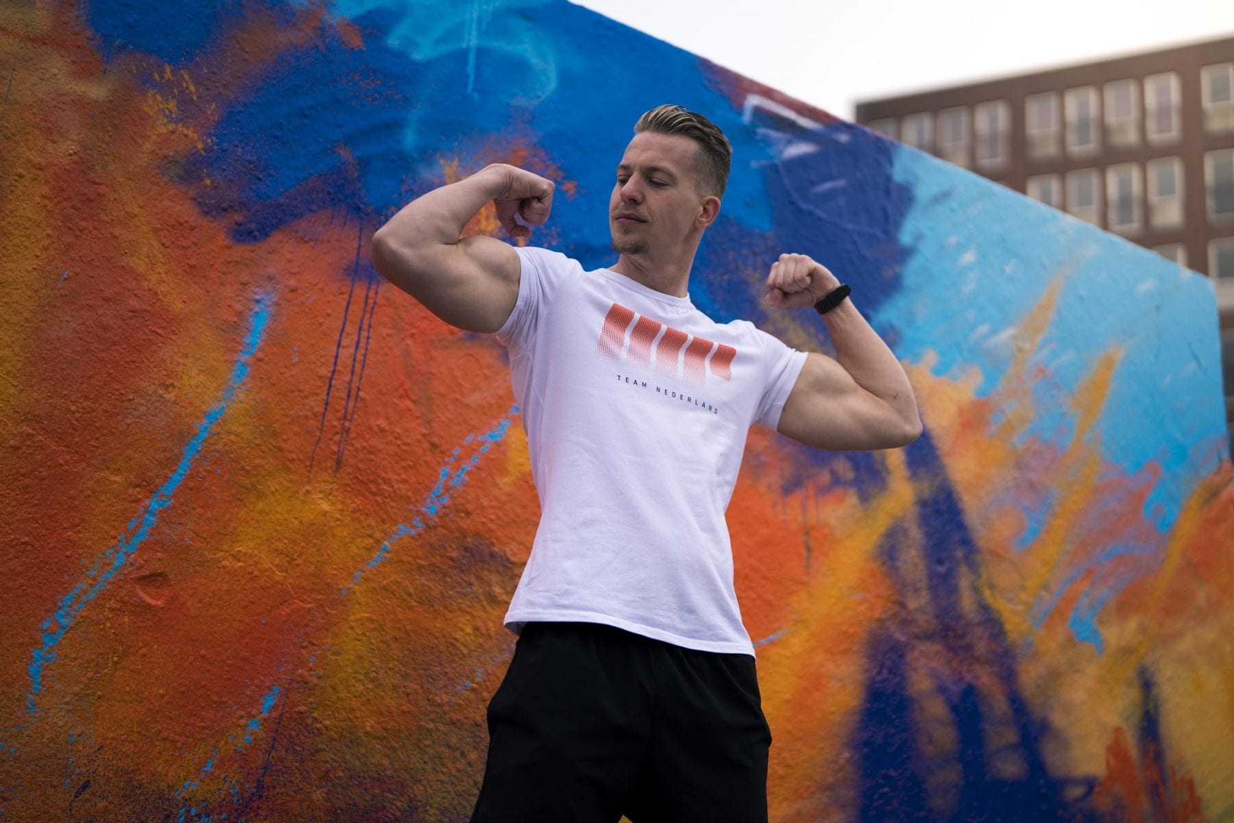 Kingday T-shirt Nederland Shirt Team Nederland Myprotein Oranje Boven Anthony Kruijver