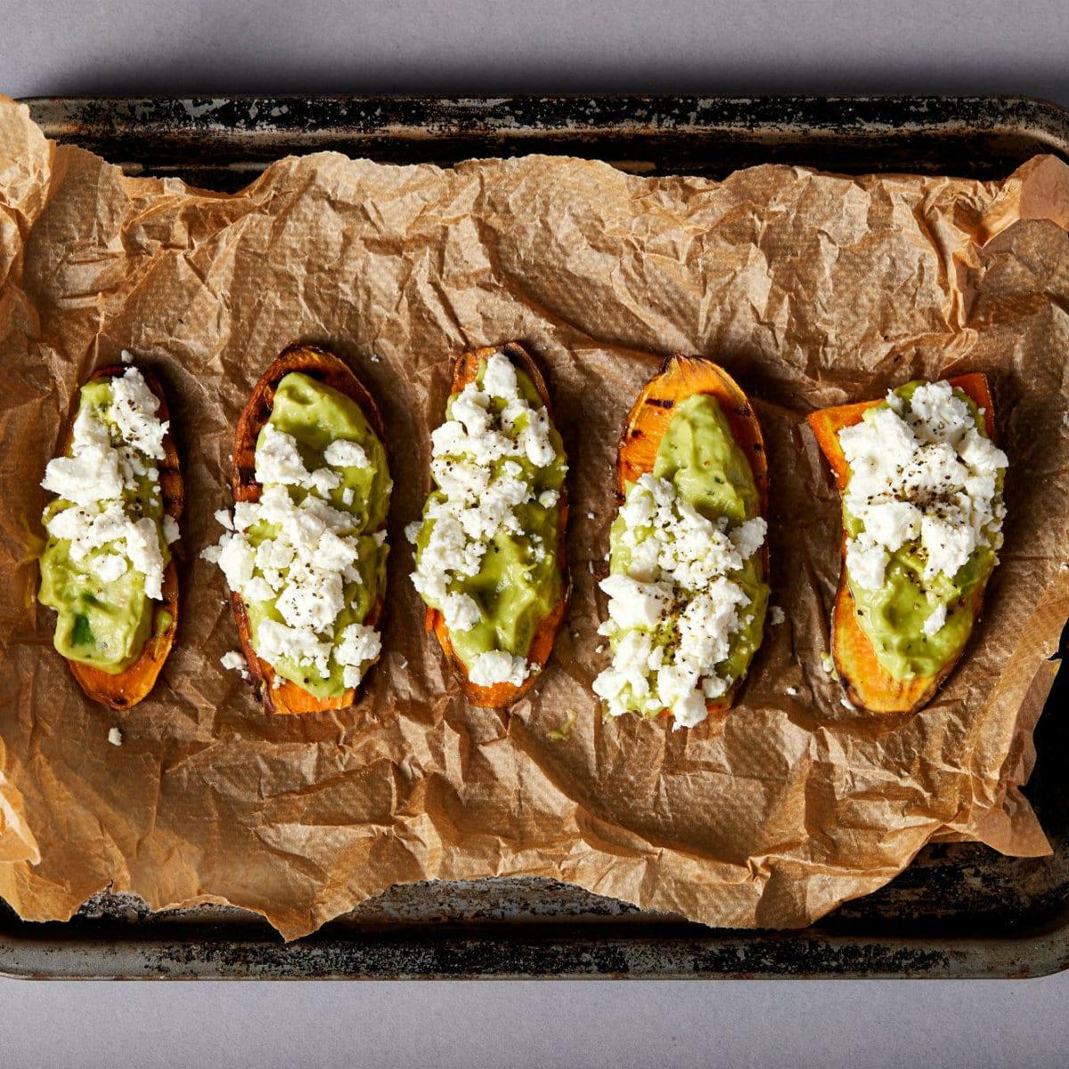 zoete aardappel toast recept