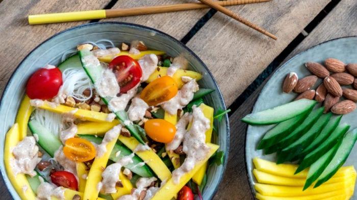 Zomerse Aziatische salade