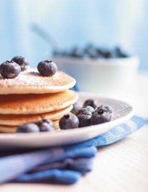 High Protein Pancakes | Chocolate Chip Banana Flavour